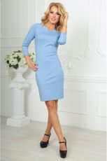 К чему снится голубое платье?