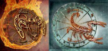Овен и Скорпион Совместимость знаков Зодиака | Удав и кролик