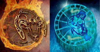 Овен и Водолей Совместимость знаков Зодиака | Младший и старший брат