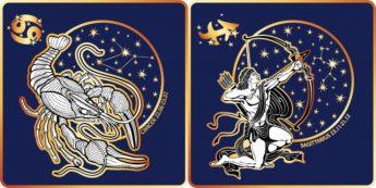 Рак и Стрелец Совместимость знаков Зодиака | Удав и кролик