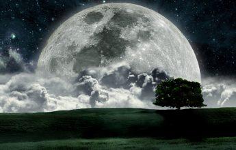 К чему снится большая луна?